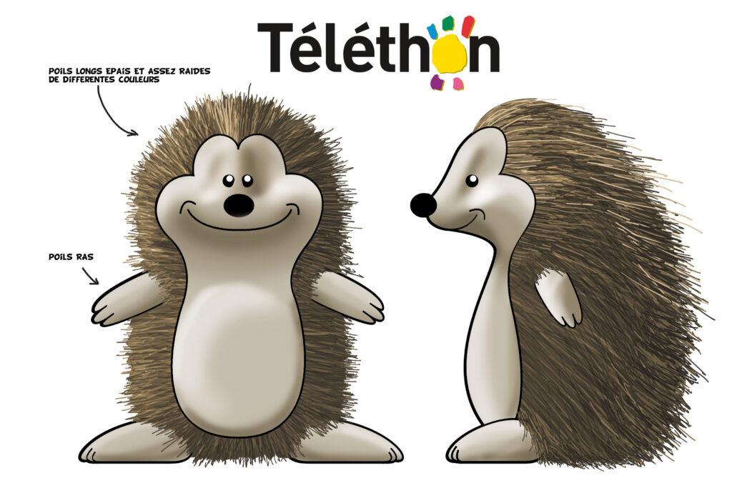 Creacube, mascotte Téléthon