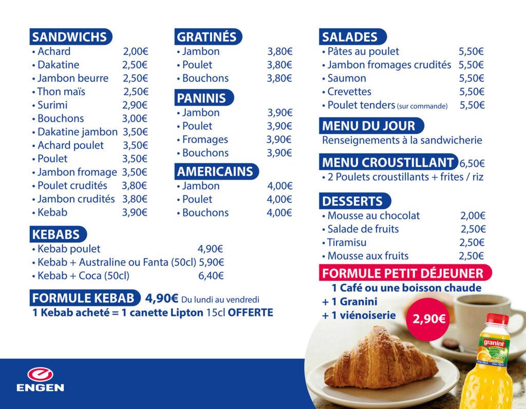 Cartes et menus Creacube